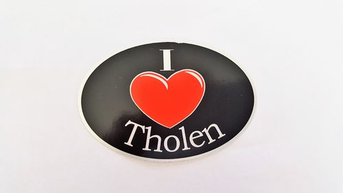 Sticker I Love Tholen