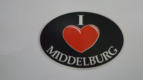 Sticker I Love Middelburg