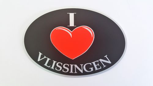 Sticker I Love Vlissingen
