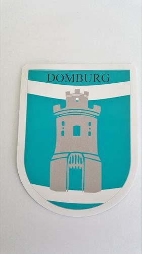Sticker Wapen Domburg