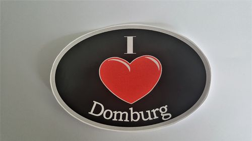 Sticker I Love Domburg