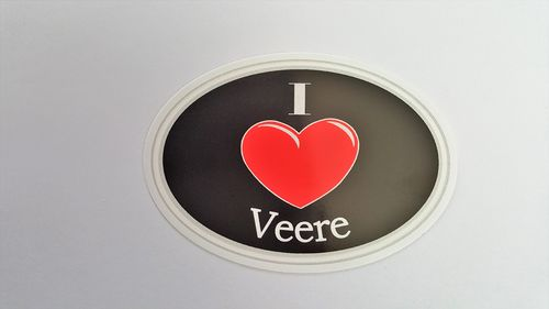 Sticker I Love Veere