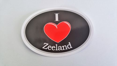 Sticker I Love Zeeland