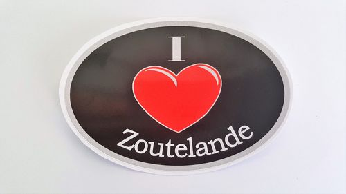 Sticker I Love Zoutelande