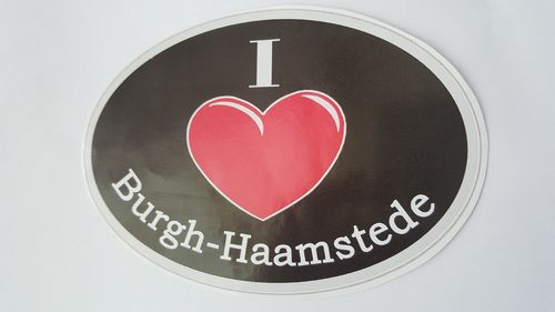 Sticker I Love Burgh - Haamstede